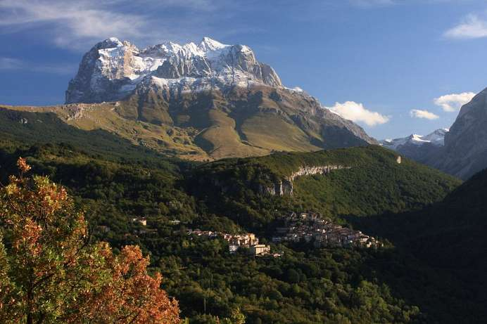 Central Italy at your feet: Gran Sasso