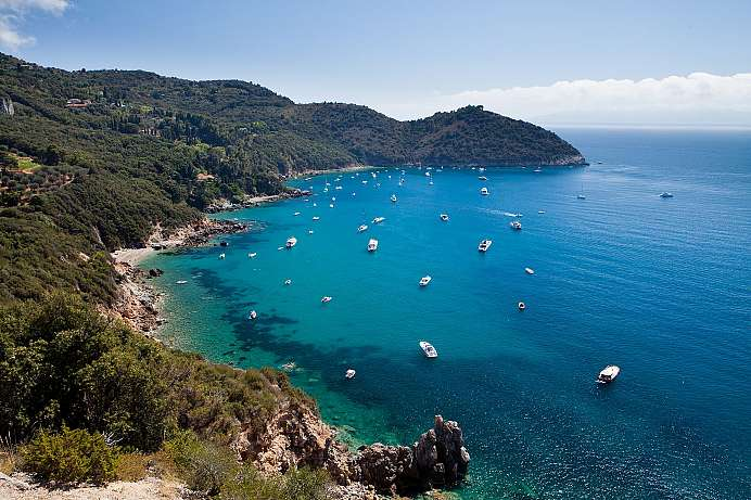 Spared from mass tourism: Argentario