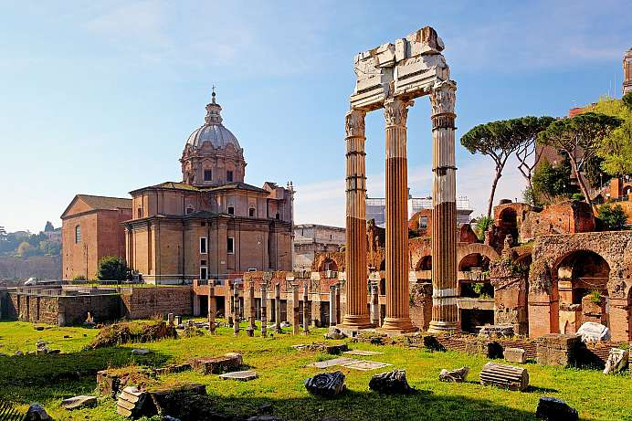 Eternal city: Forum Romanum