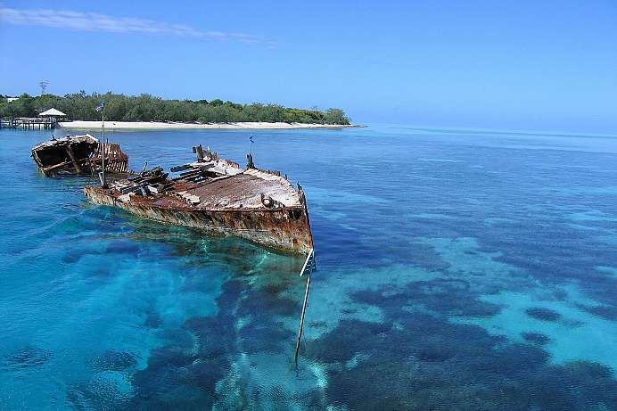 Koralleninsel im Great Barrier Reef: Heron Island