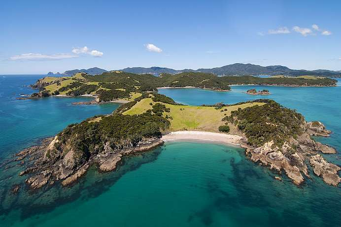 Traumhaftes Segelrevier: die Bay of Islands