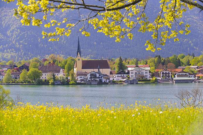 The sunniest place in Bavaria: Tegernsee