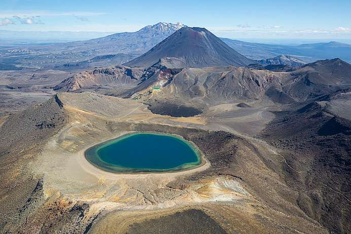 Vulkankegel im Tongariro National Park (© David Wall)