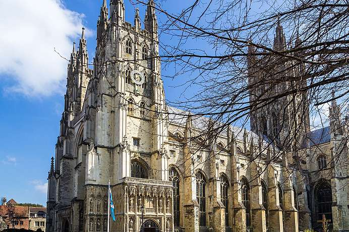 Centre of the Church of England: Canterbury Cathedral