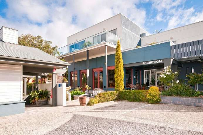 Modern & komfortabel: kleine Hotelanlage in Apollo Bay