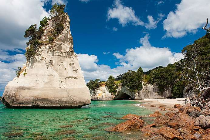 Coromandel Halbinsel: Cathedral Cove (© Peter Morath)