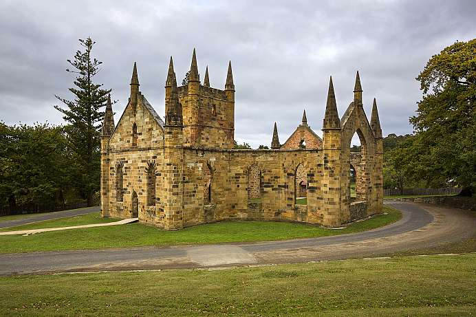 Port Arthur Historic Site: Kirche