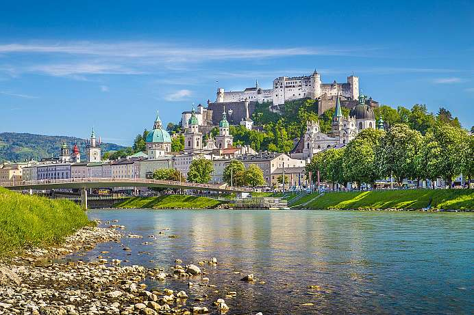 Salzburg with Fortress