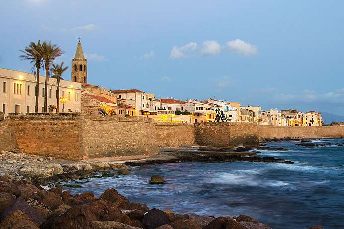 Spanish flair: old town of Alghero