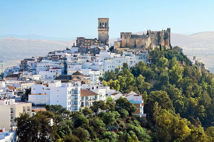 Picturesque setting: Arcos de la Frontera