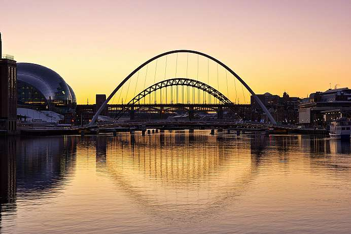 Am River Tyne: Newcastle in Northumberland