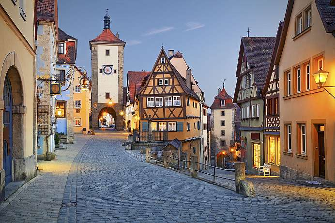 Hardly changed since the 30-year war: Rothenburg
