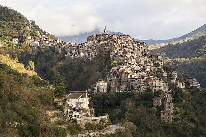 Perfect for exploring the Maritime Alps: Apricale