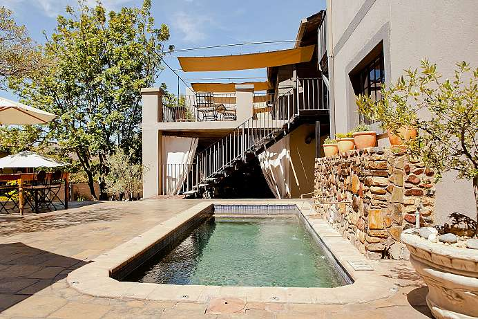 Oase in der Stadt: Boutique-Hotel in Windhoek