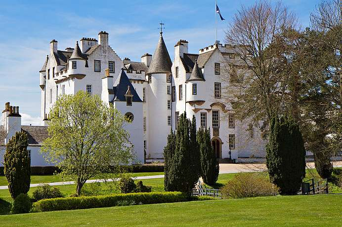 Seat of the Duke of Atholl: Blair Castle