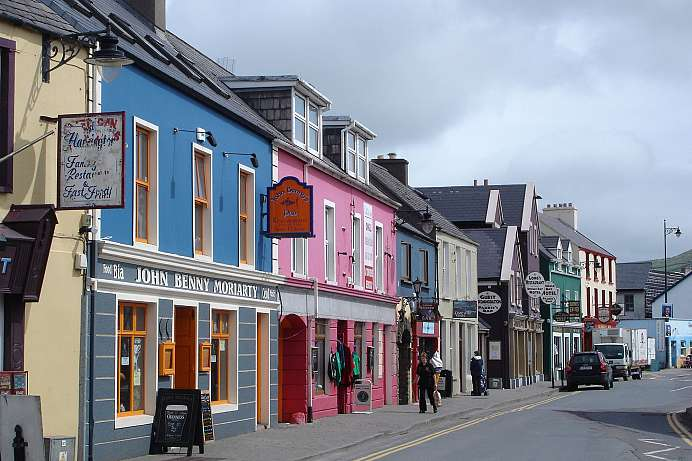 A picture-book fishing village: Dingle
