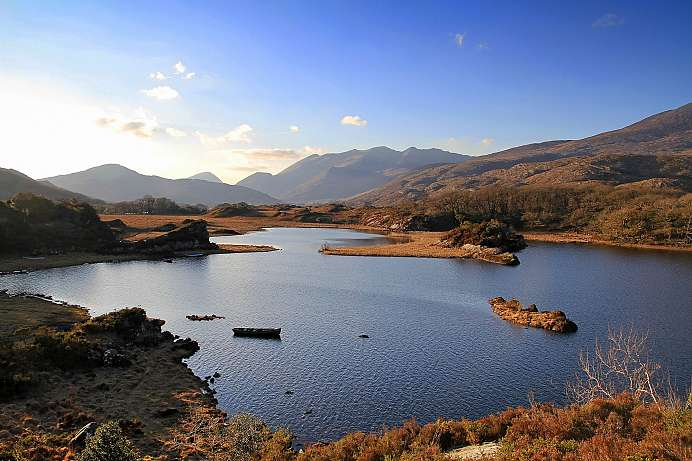 Malerische Seenlandschaft: Killarney National Park