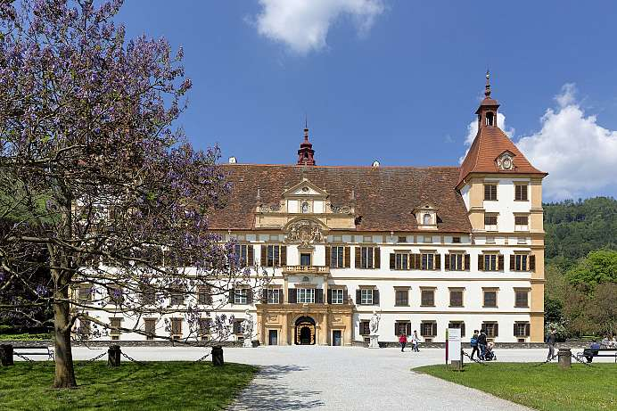 Baroque masterpiece: Eggenberg Castle near Graz