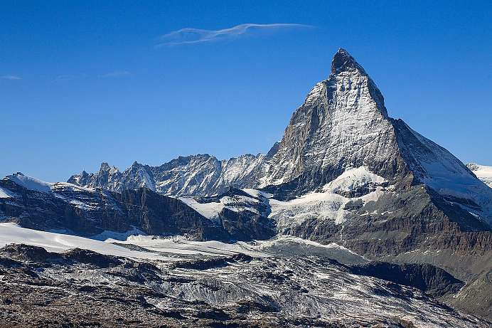 Mountain of mountains: The Matterhorn near Zermatt