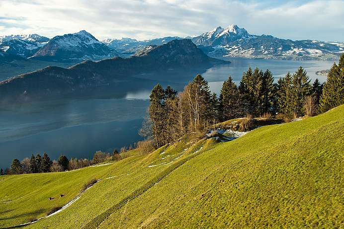 Most beautiful lake in Switzerland: Lake Lucerne