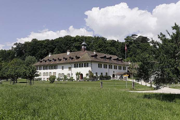 Now a hotel: A former monastery on St. Peter's Isle