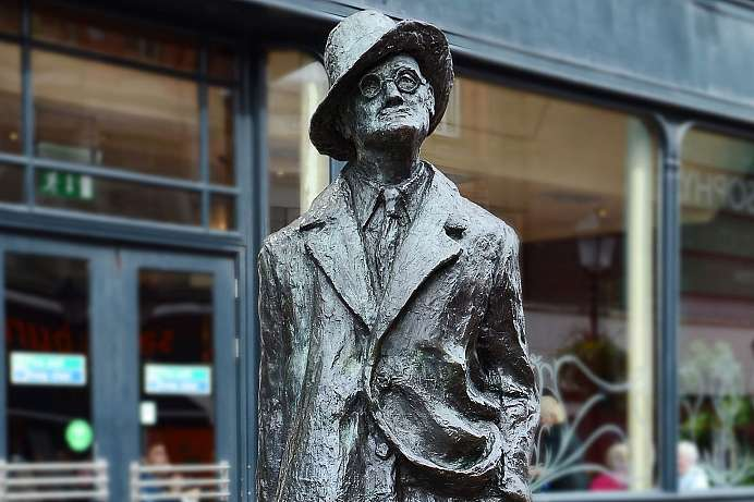 James Joyce: Denkmal in Dublin