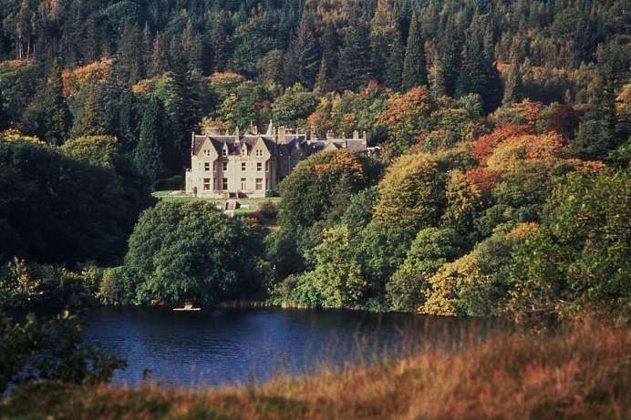 On the shores of Loch Oich: A remote castle hotel