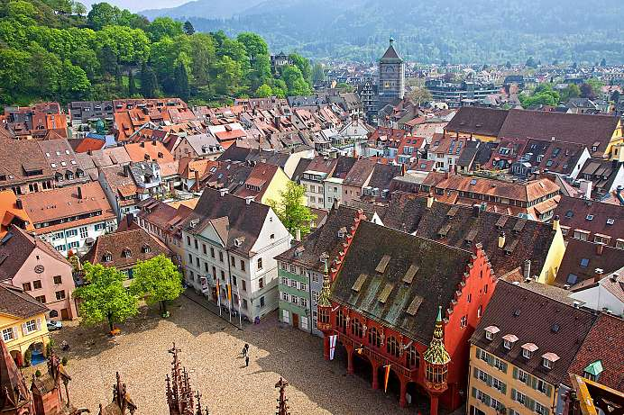 Freiburg: historical University town