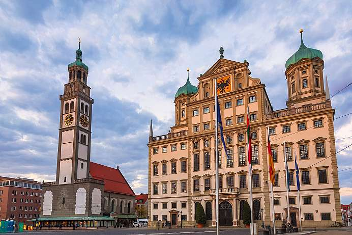City for Mozart & Brecht enthusiasts : Augsburg