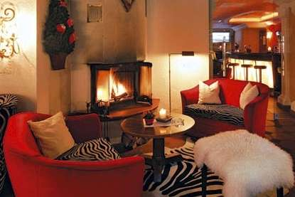 Luxury in red and zebra: A boutique hotel in Zermatt