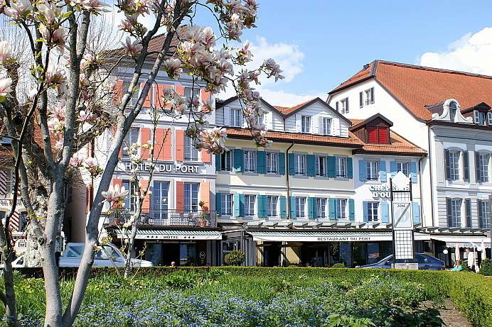 Bright and friendly: A lakefront hotel in Lausanne