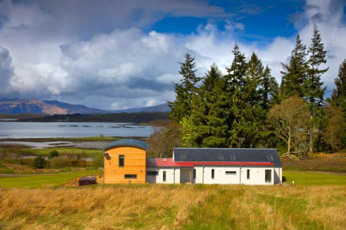Dream-like landscapes: A B&B overlooking Loch Linnhe