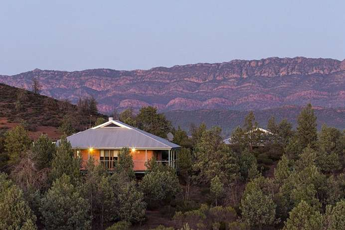 Eco-friendly: Schafsfarm am Flinders Range