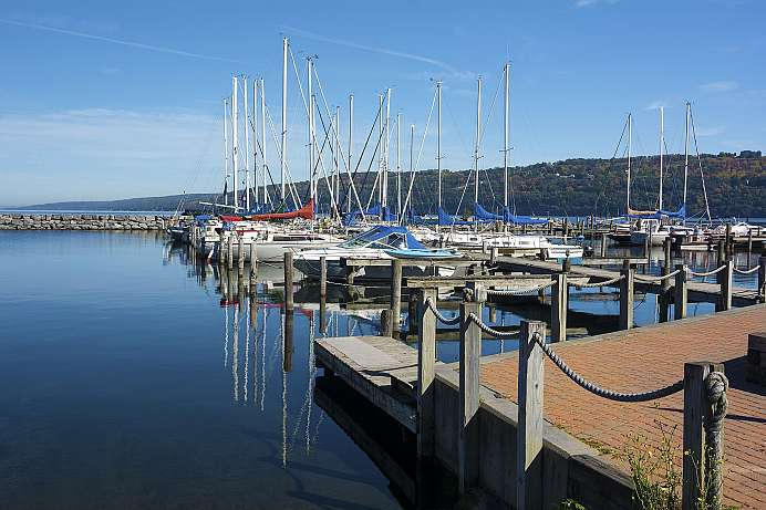 Edle Yachten in den Finger Lakes: Seneca Lake