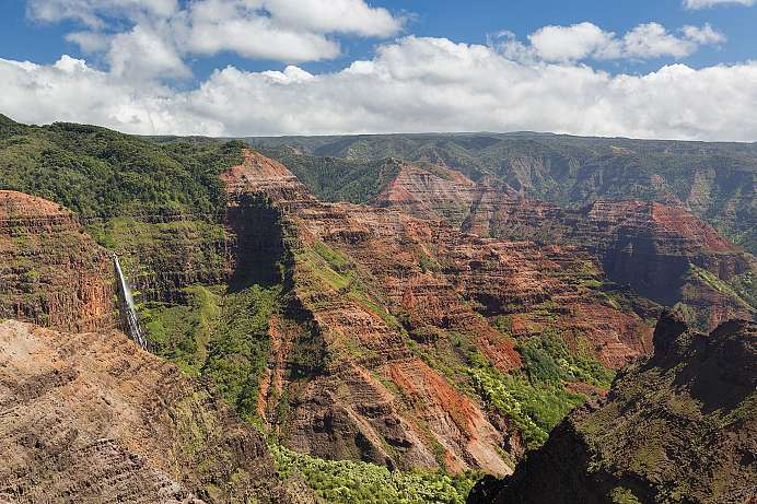 Der Grand Canyon des Pazifiks: Waimea Canyon