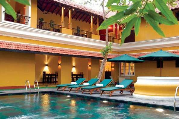 Oase der Ruhe: Boutiquehotel in Cochin Downtown