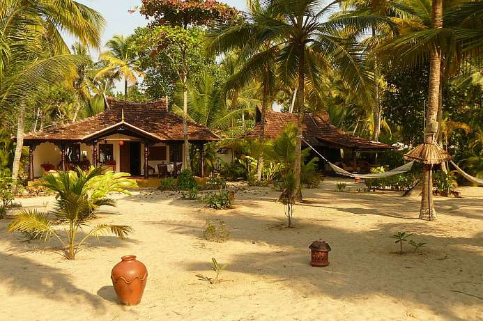 Tropisches Idyll: Beach Resort in Kerala