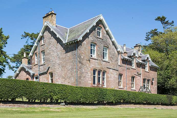 Authentisch: Country House in den Scottish Borders