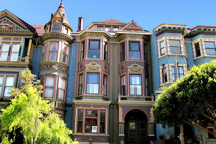 Old world charm: Villa am Alamo Square