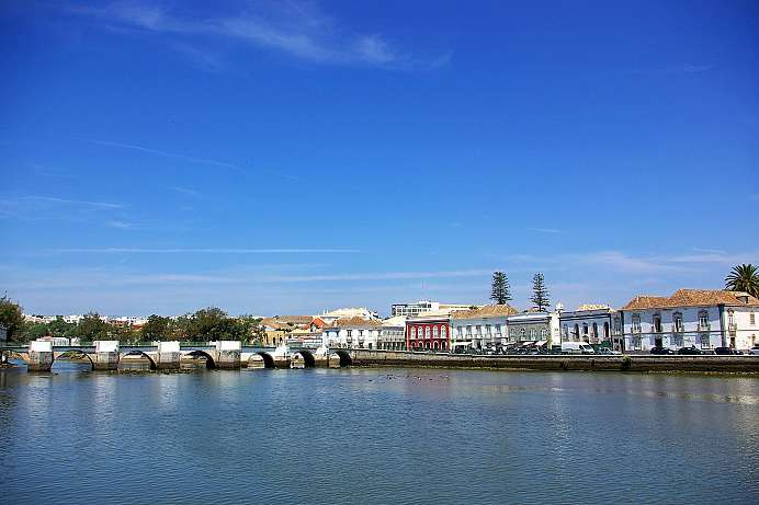 Picturesque town in the Algarve: Tavira