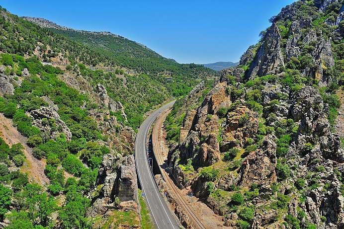 Between Castile and Andalusia: Despeñaperros Gorge