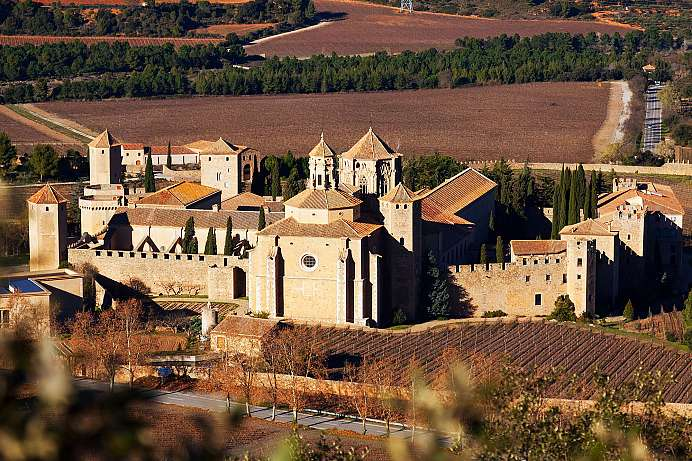 Largest Cistercian Abbey of the West: Poblet