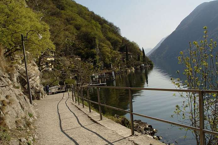Idyllic site on the lake: Sentiero di Gandria