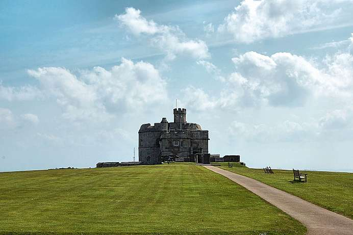 Stronghold against the French and Spaniards: Pendennis Castl