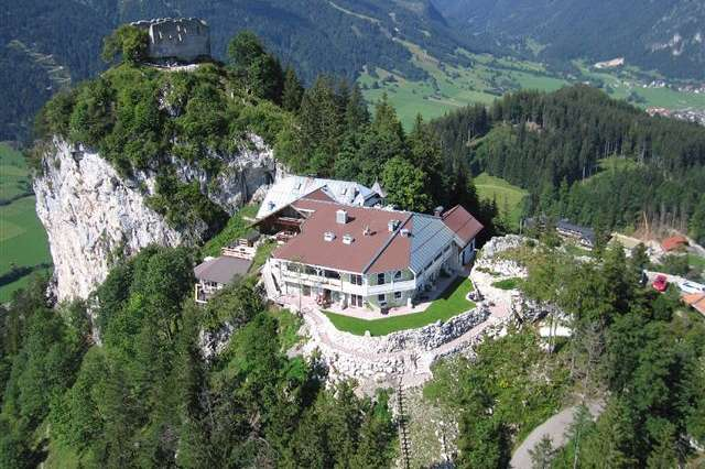 Where Ludwig II once tread: A mountain inn