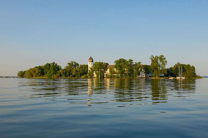 Largest island in Lake Chiemsee: Herreninsel