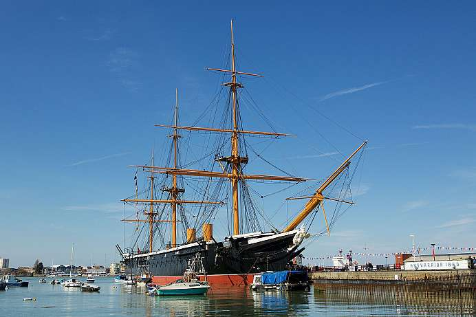 Portsmouth Historic Dockyard: Open air museum and fun