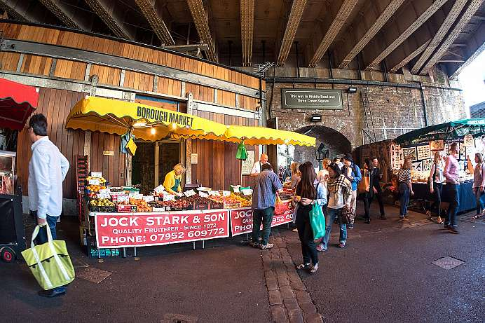 Rustic atmosphere: Borough Market