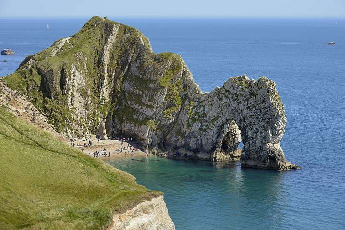 Outstanding beauty: Durdle Door an der Jurassic Coast