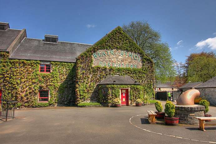 Dating to 1798: Blair Atholl whisky distillery